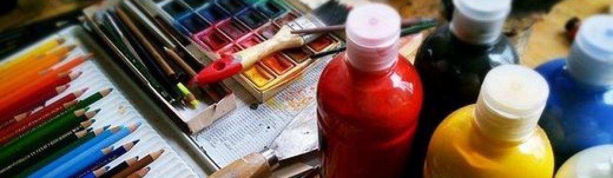 Peinture, crépissage, art, décoration